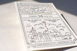 Small Of Modern Wedding Invitations