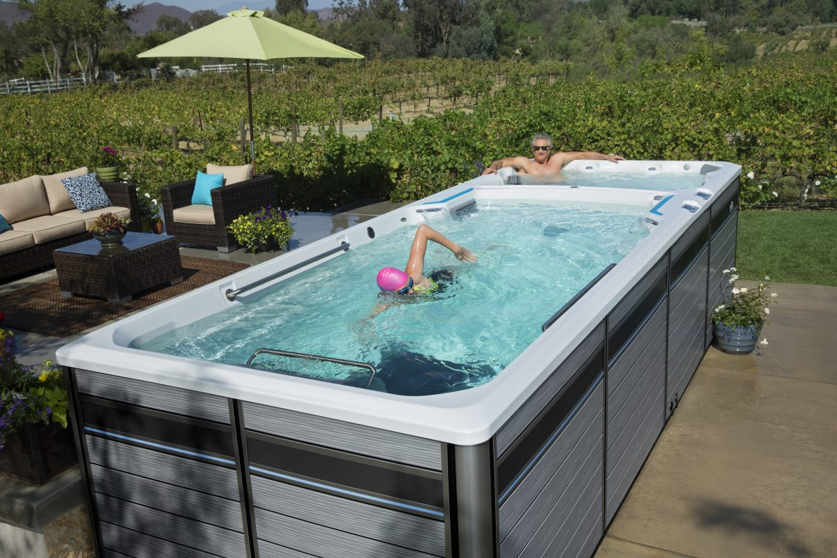 Jacuzzi Endless Pool E2000 Swim Spa Endless Pools Fitness Systems