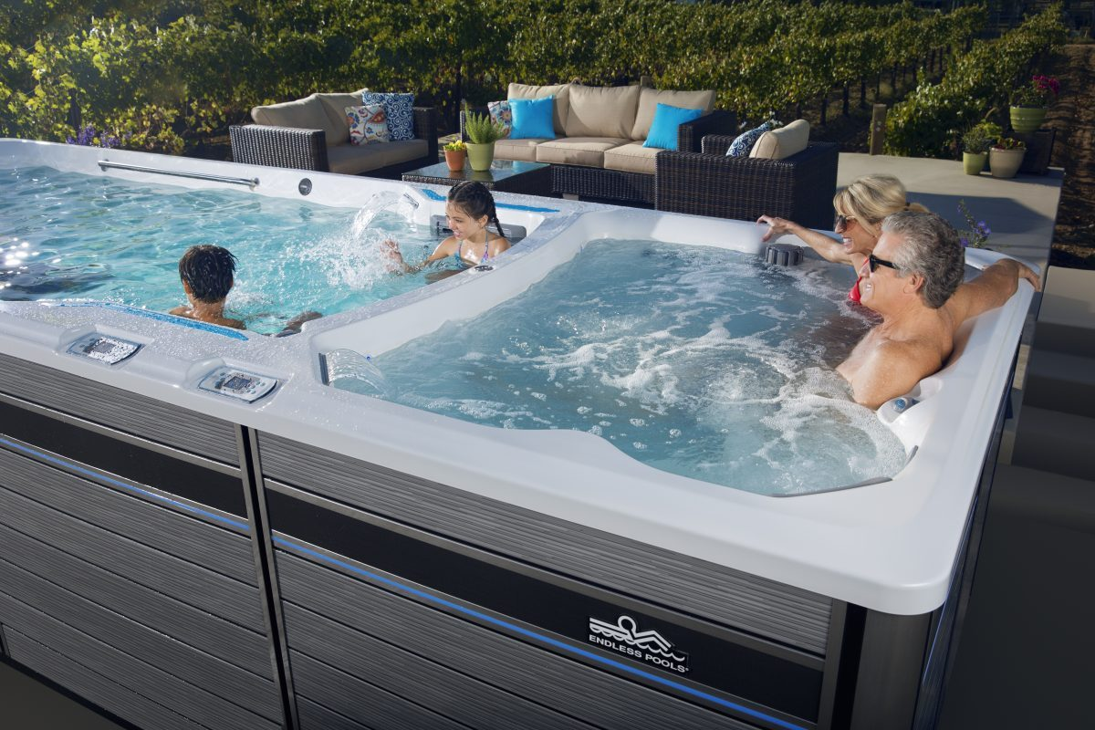 Jacuzzi Endless Pool E2000 Swim Spa Endless Pools