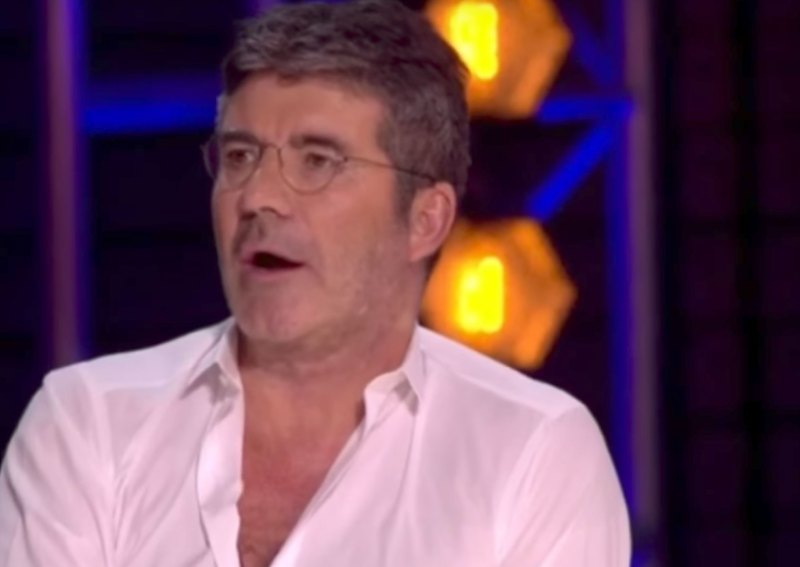 Large Of Simon Cowell Singing
