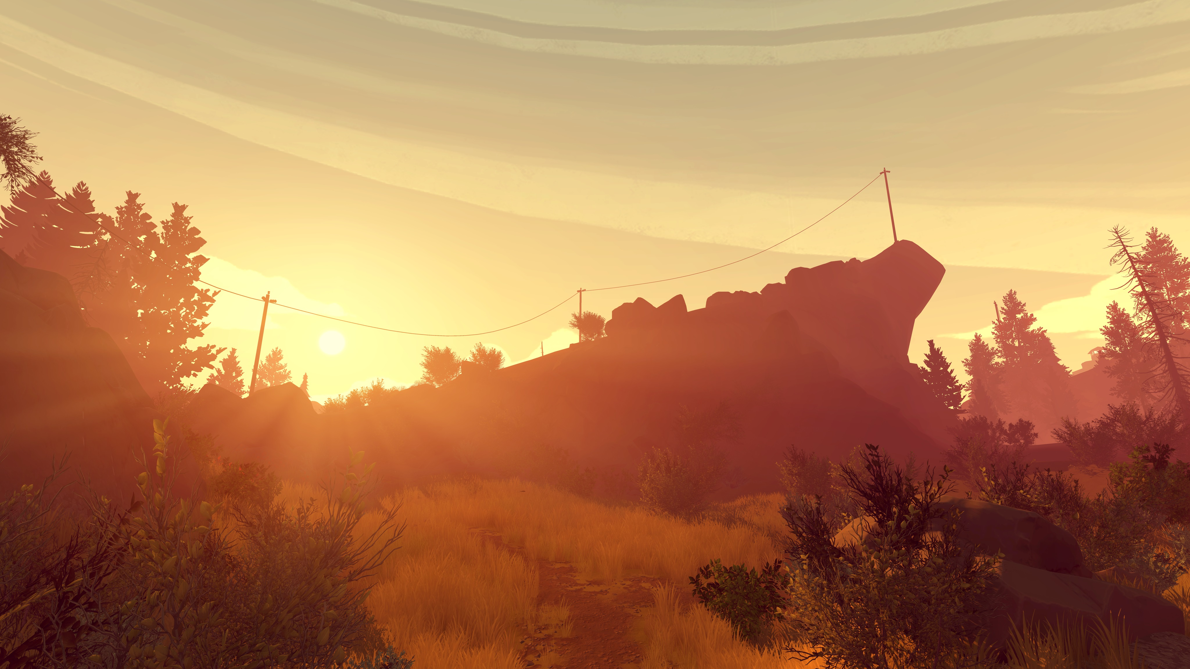 Dragon Ball Z Iphone Wallpaper Firewatch Review Campo Santo Games Reviews The Escapist