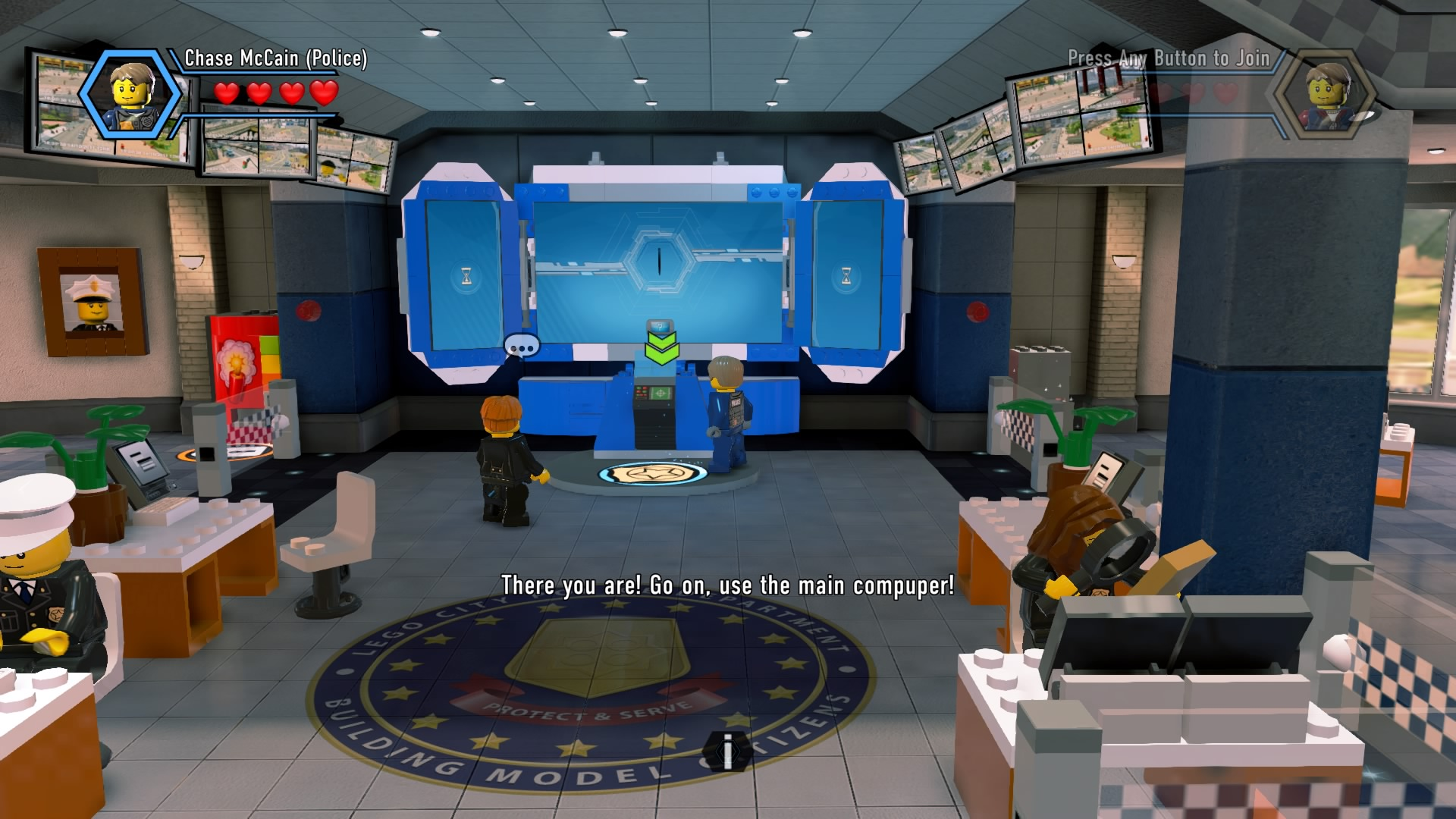 Police Car Chase Wallpaper Lego City Undercover Complete Walkthrough Chapter 1