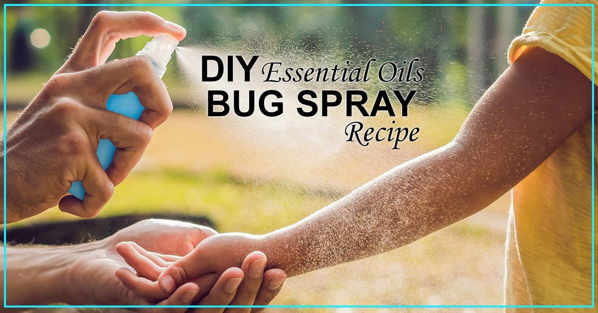 Essential Oils for Mosquito Repellent - Plus DIY Bug Spray Recipes