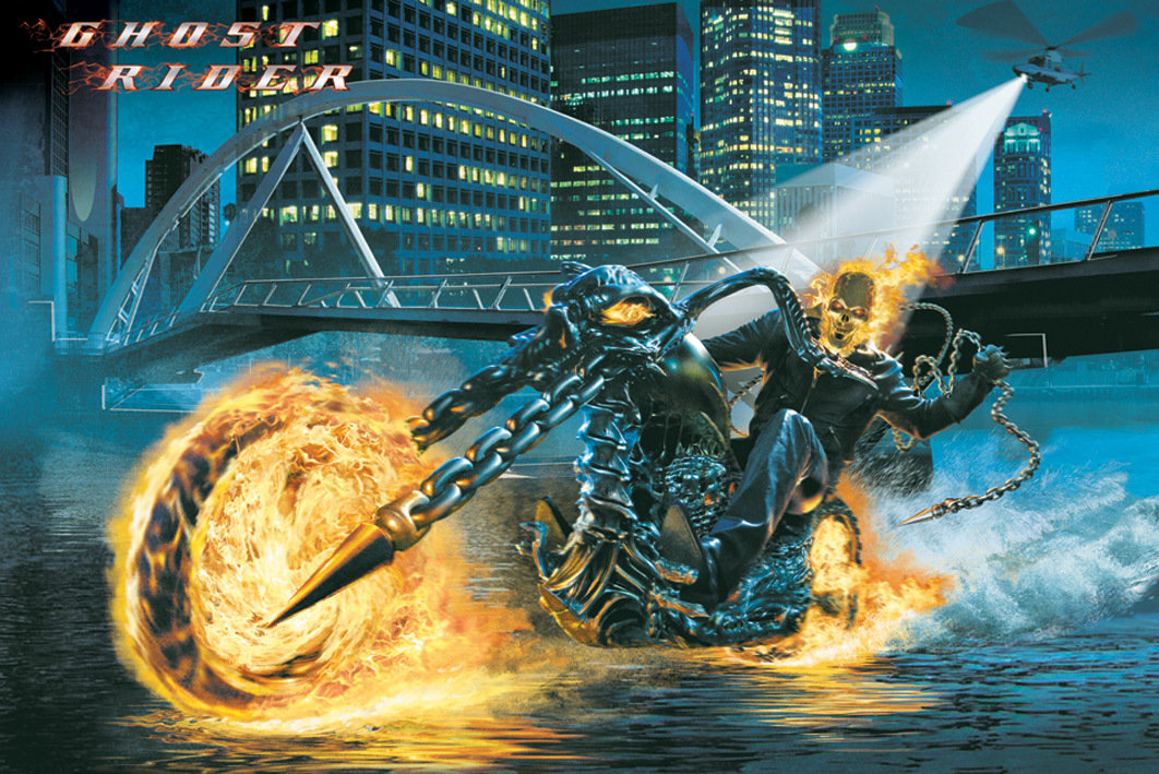 Travel Agency Wallpaper Hd Ghost Rider Riding Poster Sold At Europosters