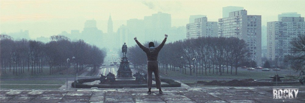 Rocky Wallpaper With Quotes Rocky Cityscape Poster Sold At Europosters