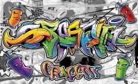 Graffiti Street Art Wall Paper Mural | Buy at Abposters.com