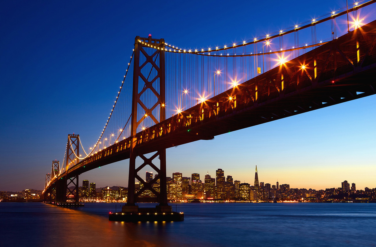 San Francisco Skyline Wall Mural Buy At Europosters