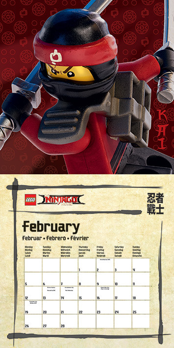 Kickertisch Kinder Lego Ninjago Movie - Calendars 2020 On Ukposters/abposters.com