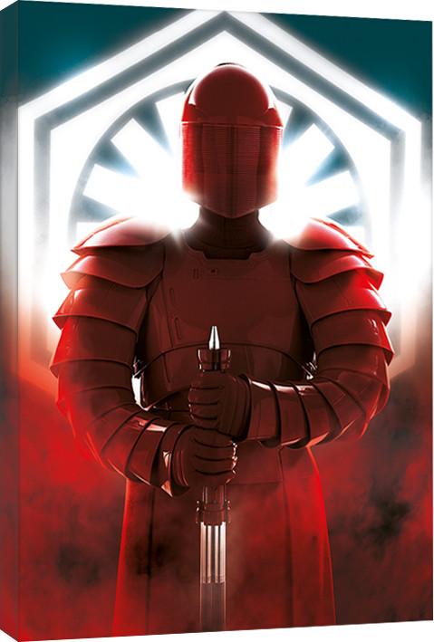 Girl Art Print Wallpaper Canvas Print Star Wars The Last Jedi Elite Guard Defend