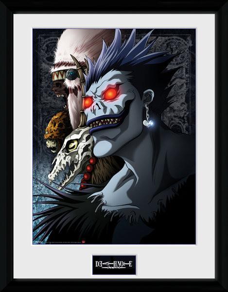 Death Note - Shinigami Kehystetty juliste - tilaa netistä Europostersfi - death note