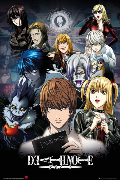Death Note - Collage Poster Sold at Abposters