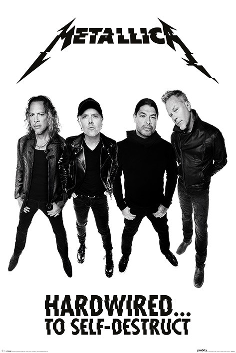 Money Wallpaper Hd Metallica Hardwired Band Poster Sold At Abposters Com