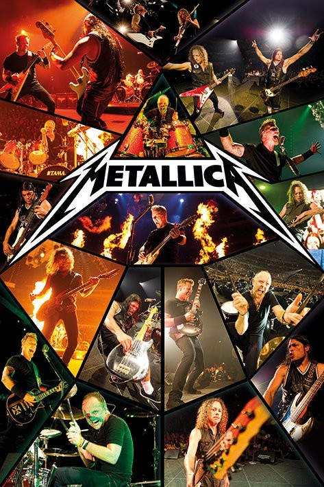 Make Your Own Iphone 5 Wallpaper Metallica Live Poster Sold At Europosters