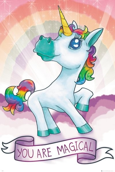 Happy Birthday Mom Quotes Wallpapers Unicorn Magical Poster Sold At Europosters