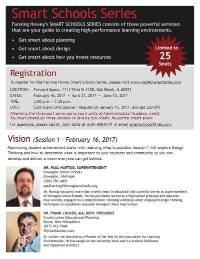 Administrators' Academy: Smart Schools Series: How to Plan and Construct Learning Environments ...