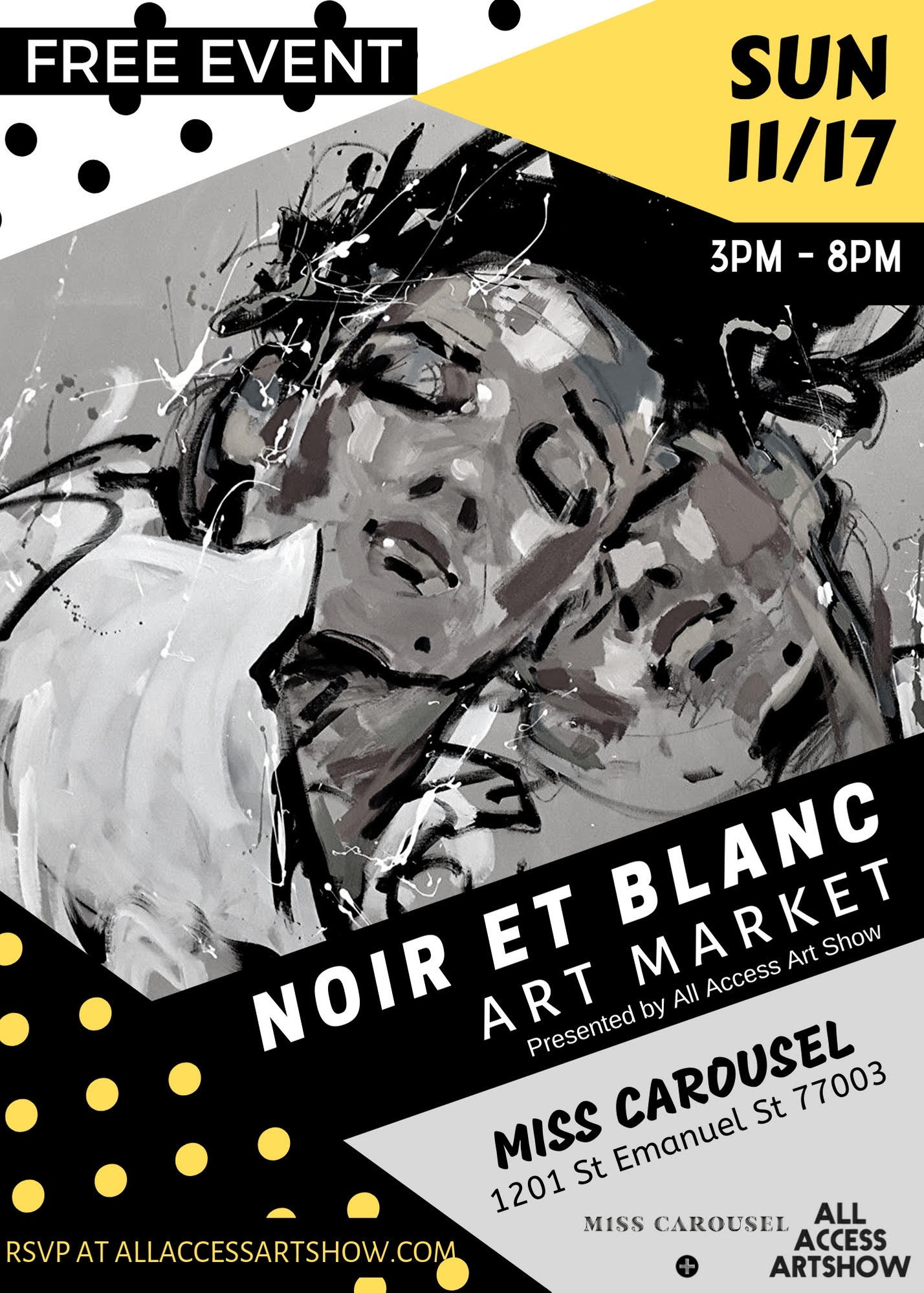 Photo Design Noir Et Blanc Noir Et Blanc Art Market Presented By All Access Art Show