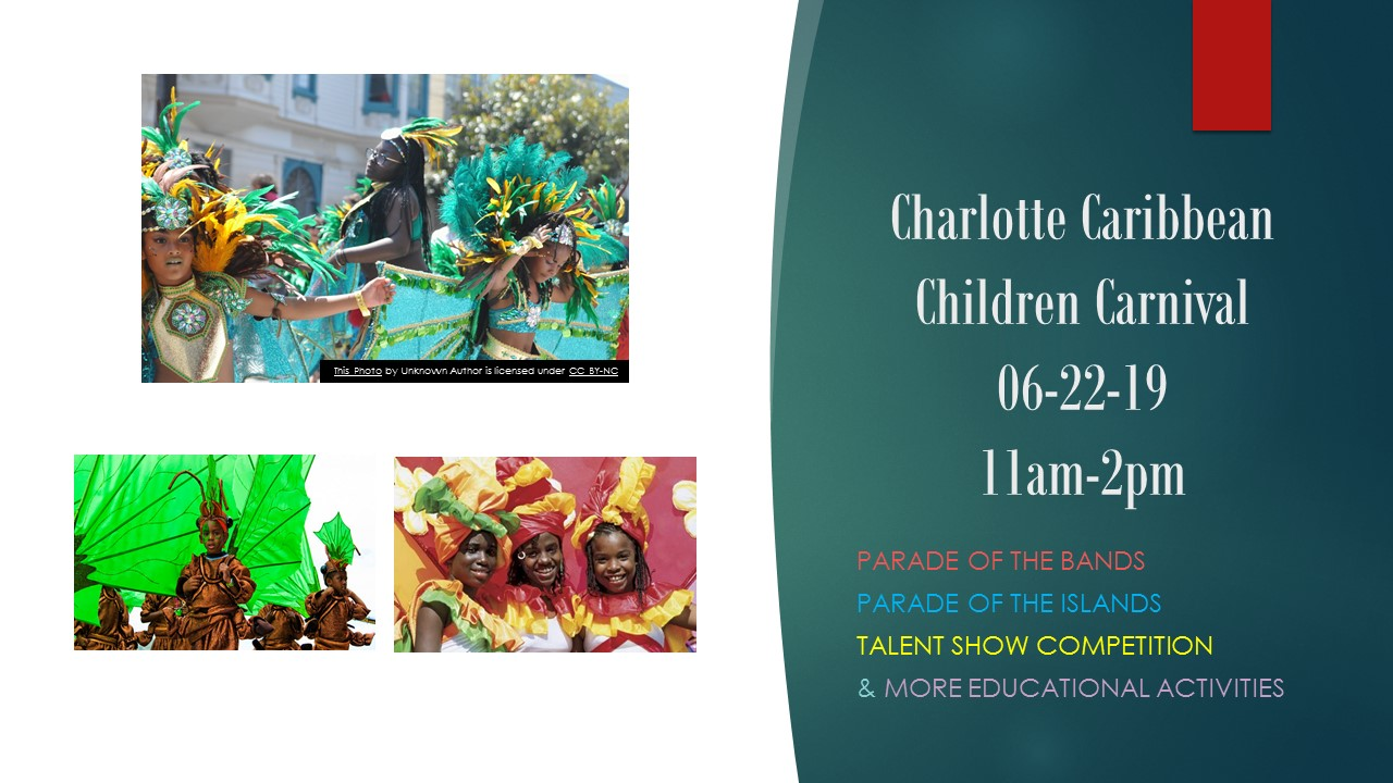 Things For Kids To Do In Charlotte Charlotte Caribbean Children Carnival Tickets Sat Jun 22 2019