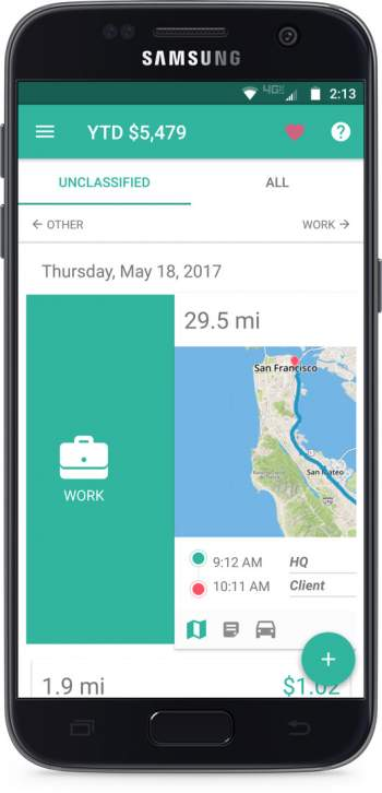 Everlance Automatic Mileage Tracker  Expense Tracking App ˜ Free