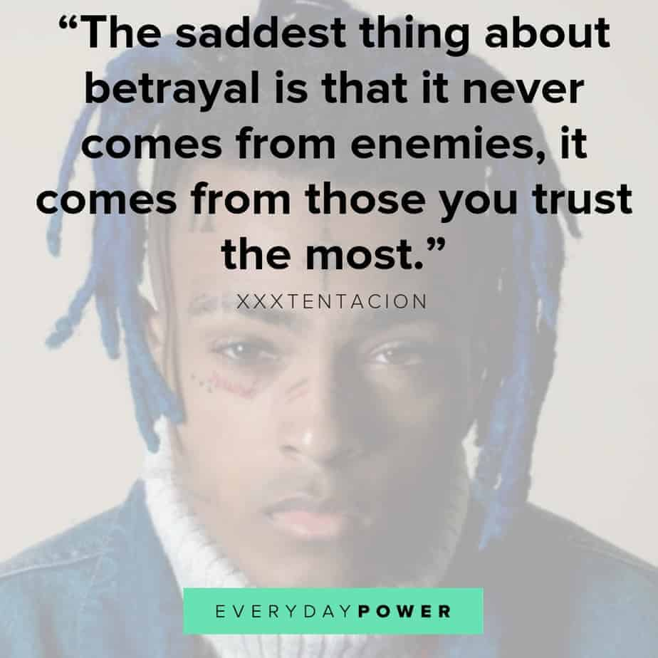 Bad As I Wanna Be Lyrics 30 Xxxtentacion Quotes And Lyrics About Life And Depression 2019