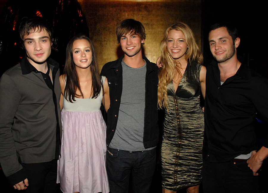 gossip girl cast now and then