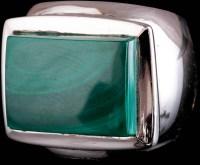 Malachite Men's Ring