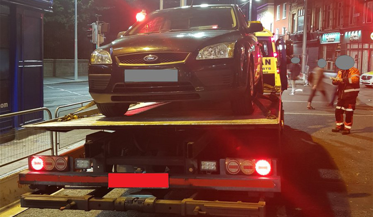 Learner Driver Has Car Seized After Travelling Down