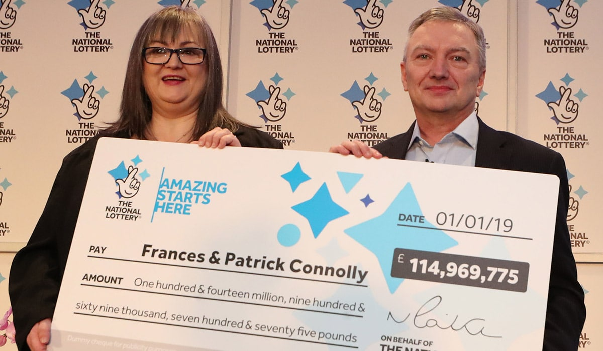 Lotto Euromillions Armagh Couple Patrick And Frances Connolly Are Irish Lotto Winners