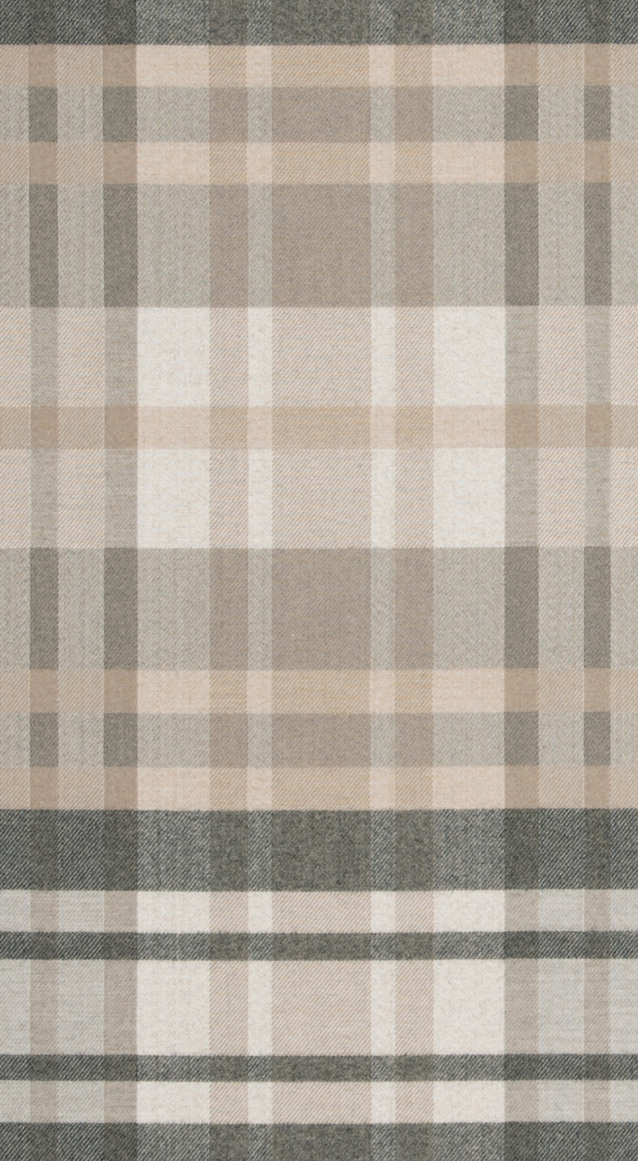 Plaid Taupe Romy Plaid Taupe Fabric S Harris