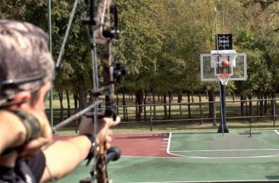 Dude Perfect Back With Amazing Archery Trick Shots (Video)