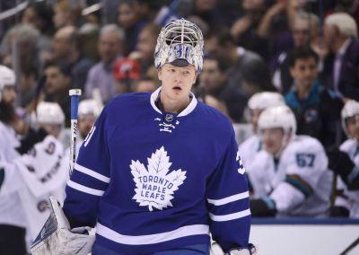 The Leafs need to lighten Frederik Andersen's workload