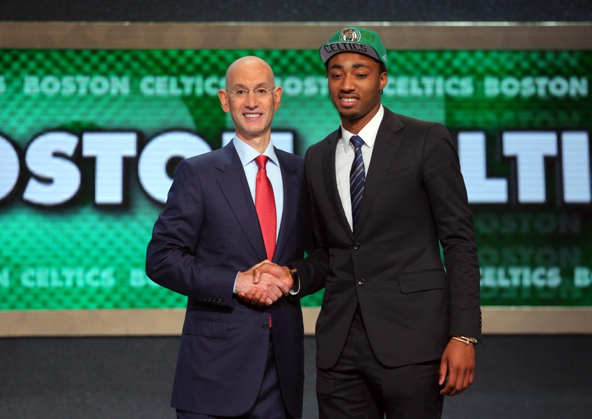 James Young and commsioner Adam Silver