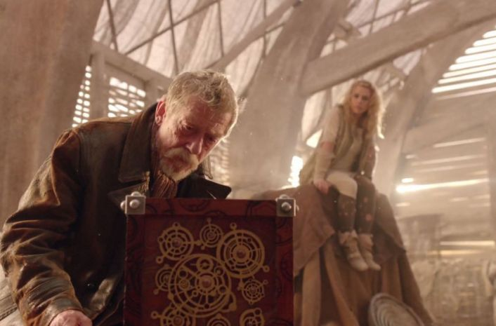 the War Doctor and the Moment in 'The Day of the Doctor' (credit: BBC)