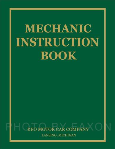 1936-1939 Reo Truck  Speedwagon Repair Shop Manual Reprint