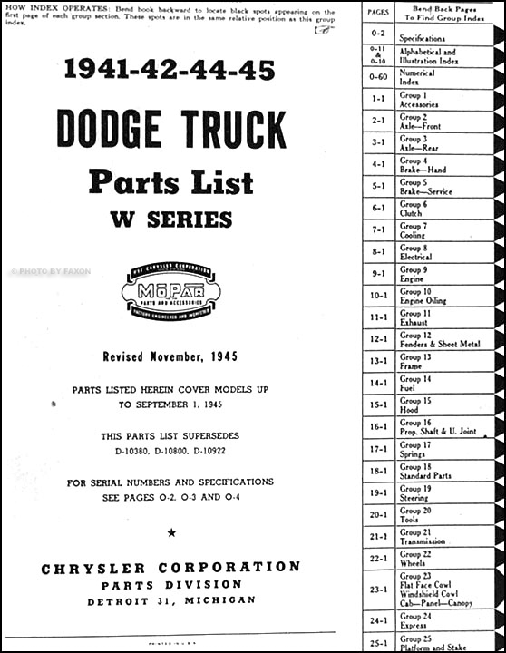 1944 dodge pickup truck