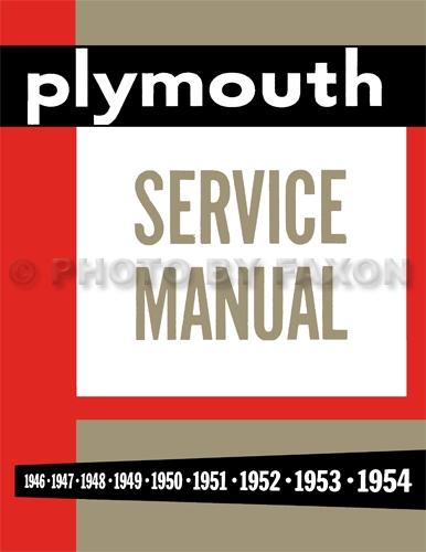 Wiring Diagram 1951 Plymouth Concord - Simple Wiring Diagram