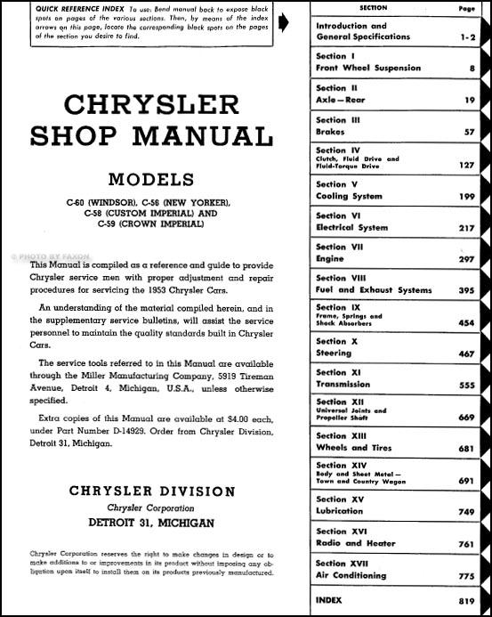1958 imperial wiring diagram - Diagrams online