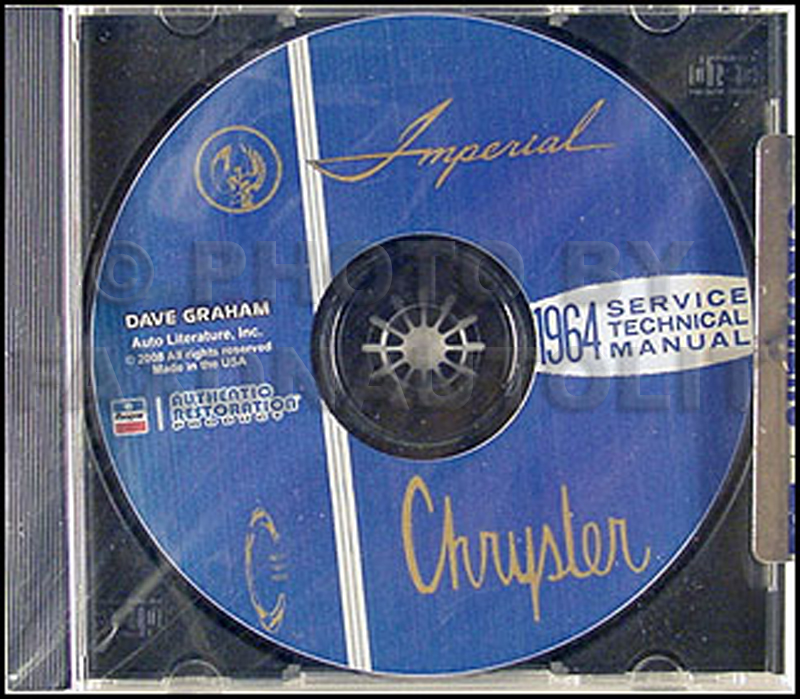 1964 Chrysler Repair Shop Manual CD for Imperial Newport 300 New Yorker