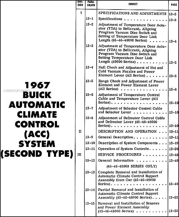 1967 buick wildcat wiring diagram