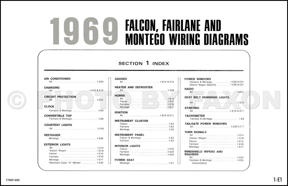 1969 ranchero wiring diagram