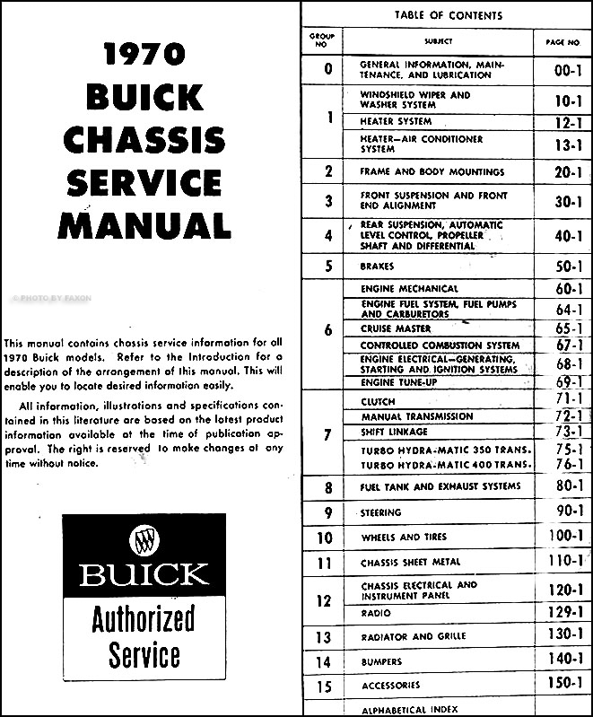 1970 buick gs wiring diagram