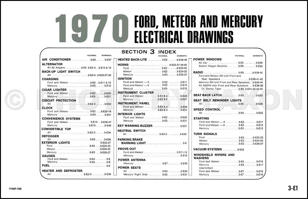 2003 mercury marauder wiring diagrams