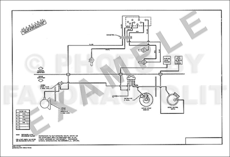1985 Lincoln Town Car Vacuum Diagram Non-Emissions AC AT Brakes