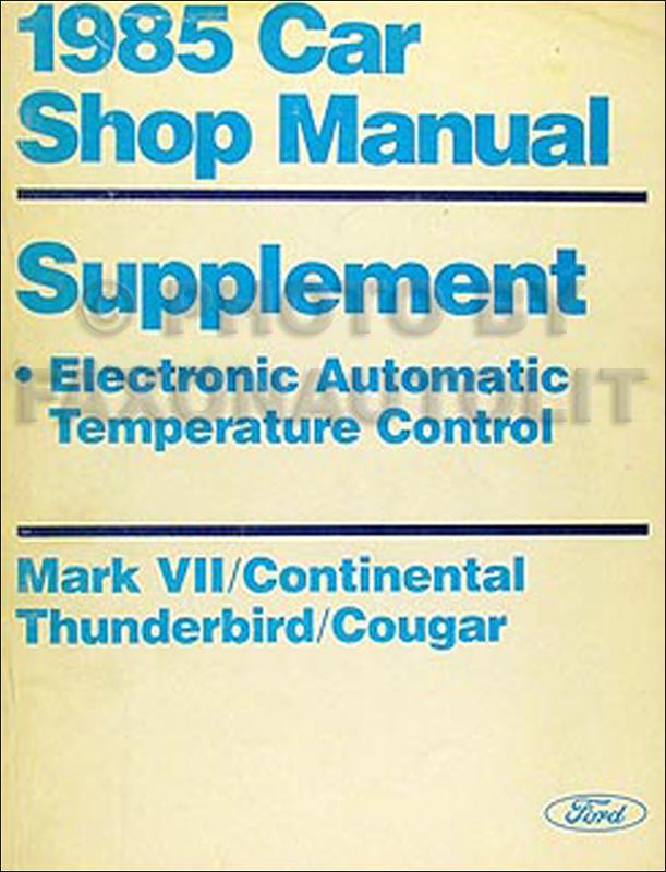 1985 Thunderbird Wiring Diagram Wiring Diagram