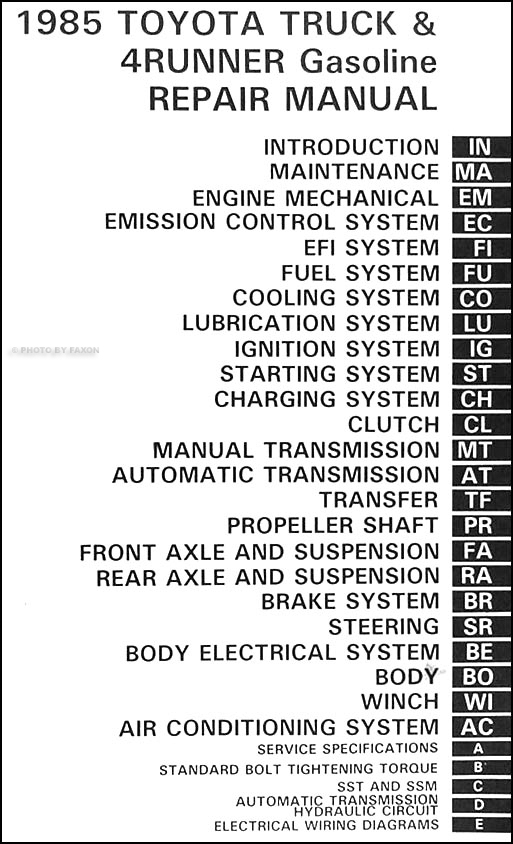 1981 Toyota Pickup Alternator Wiring Diagram - Wiring Solutions