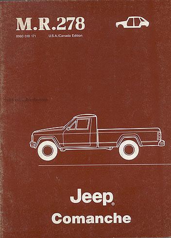 89 Comanche Wiring Diagram  - 1990 Jeep Comanche Wiring Diagram, 89