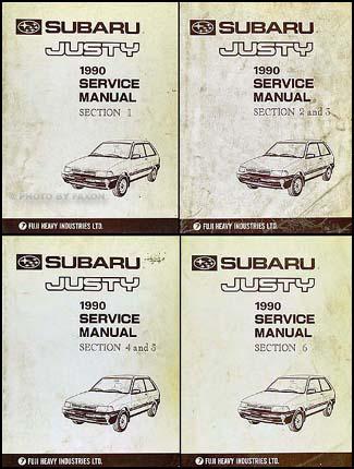 Subaru Justy Fuse Box Wiring Schematic Diagram