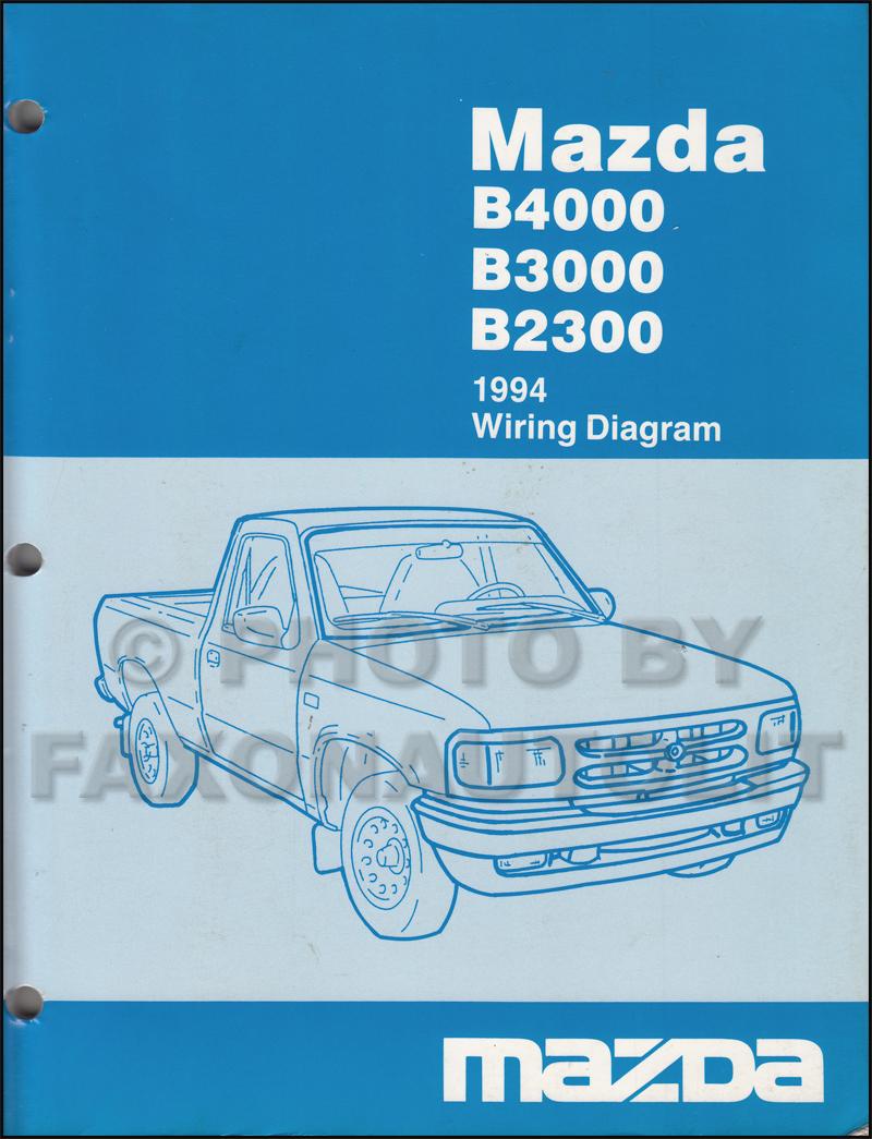 1997 mazda b2300 engine diagram