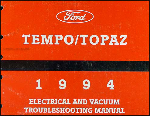 94 Ford Tempo Wiring Diagram Index listing of wiring diagrams