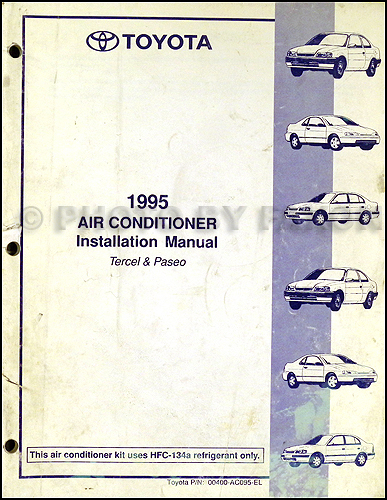 1992 Toyota Paseo Wiring Diagram Index listing of wiring diagrams