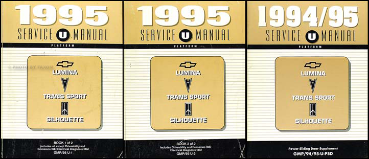 1995 Chevy Lumina Van, Olds Silhouette Pontiac Trans Sport Repair